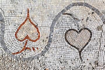 Roman Mosaics at Tyre Ruins, Lebanon
