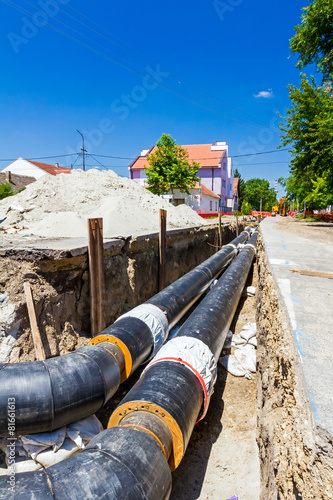 New pipeline in the process of building - 81661613