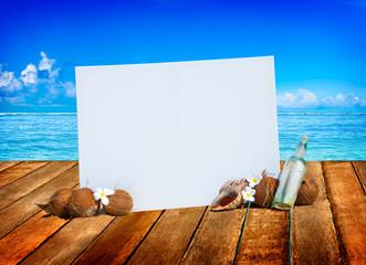 Relaxation Vacation Summer Beach Ocean Concept