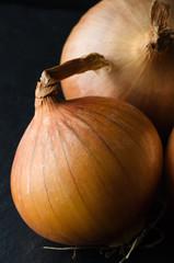 Whole Unpeeled Onion