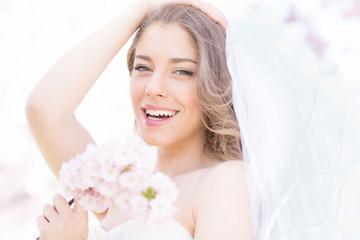 schöne Frau Braut