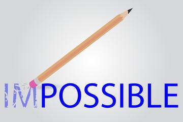 Pencil - Erasing Text Impossible