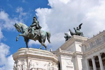 Statua - Vittoriano Roma
