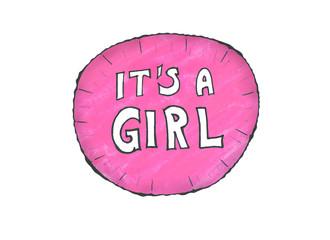 it's a girl Ballon
