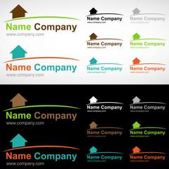 logo maison construction