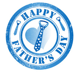 happy fathers day stamp
