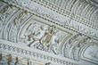 Leinwanddruck Bild - The mansion Brusnicyna in St. Petersburg.Interior.White hall.