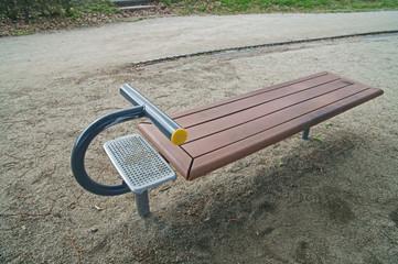 公園の健康器具