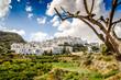 Leinwandbild Motiv Altstadt von Mojacar Andalusien