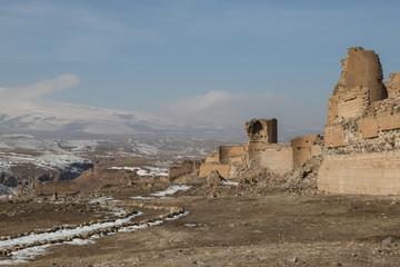 city walls of ancient Ani