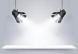Black lamps. Vector - 81671228