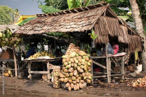Keuken foto achterwand Boodschappen Marché au Kenya