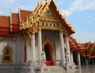Thailand Bangkok city panorama asian culture temple
