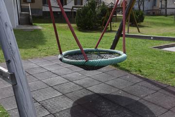gioco da esterno parco giochi altalena
