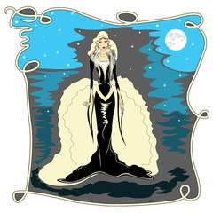Selene the Moon Goddess