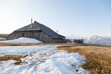 Cottage on Velika planina