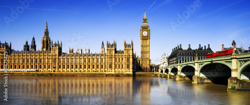 Foto op Canvas Europese Plekken London city