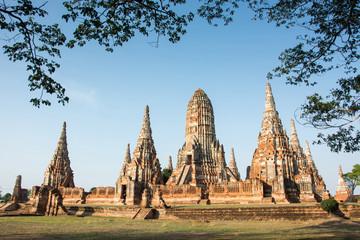Chaiwatthanaram temple, Ayutthaya, Thailand