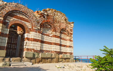 St. John Aliturghetos church in Nessebar, Bulgaria