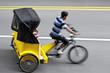 Leinwanddruck Bild - alternative ecological clean transport