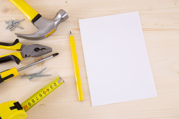 Planning a Project in Carpentry and Woodwork Industry, Notebook