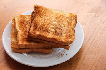 Roasted toast bread