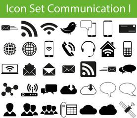 Icon Set Communication I