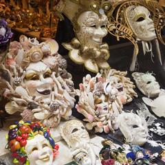 Échantillons de masques vénitiens
