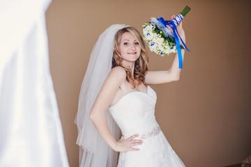 Bride morning