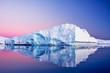 Leinwanddruck Bild - Antarctic Glacier