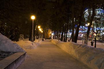 Night avenues