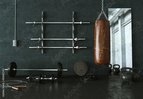Fitnessraum - 81682242