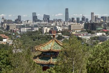 Vistas de Pekin desde Colina del Carbón