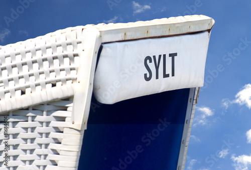 Leinwandbild Motiv Sylt