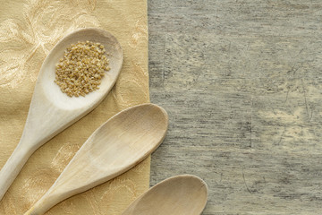 Bulgur Wheat Cooking Background