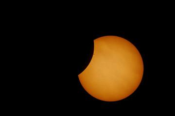Eclisse solare parziale