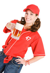 Baseball: Having a Frosty Mug of Beer