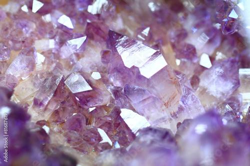 Foto op Aluminium Edelsteen amethyst gemstone mineral background