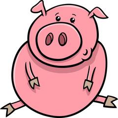 little pig or piglet cartoon