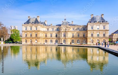 Papiers peints Paris Sénat et Jardin du Luxembourg