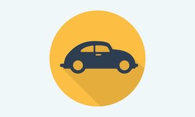 Car side view - auto icon 1