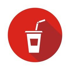 Icono refresco botón sombra