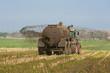 Leinwanddruck Bild - XXX - Landtechnik für Gülleausbringung  - 9114