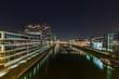 Rheinauhafen bei nacht