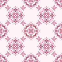 Vintage decorative r seamless  pink texture.