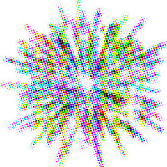 screen explosion