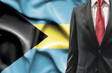 Man in suit from Bahamas