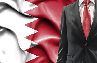 Man in suit from Bahrain