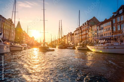 Staande foto Scandinavië Nyhavn Kopenhagen