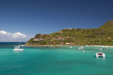 The blue at St. Barth